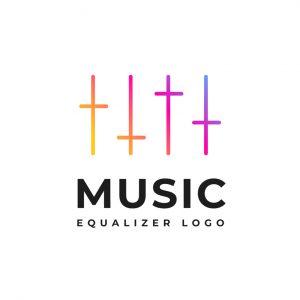 לוגו מוזיקה דגם 7