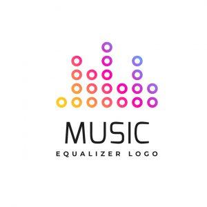 לוגו מוזיקה דגם 8