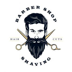 לוגו מספרות ועיצוב שיער דגם 2