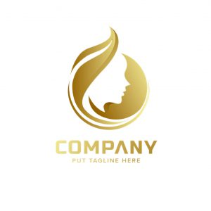 לוגו מספרות ועיצוב שיער דגם 3