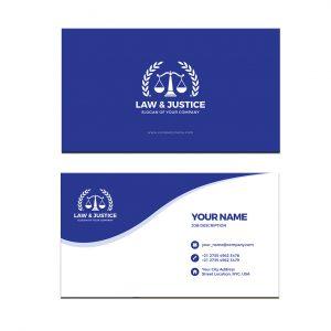 כרטיס ביקור - עריכת דין דגם 4