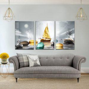 תמונת קנבס ספינת יוקרה לסלון לעיצוב הבית