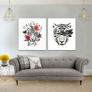 תמונת קנבס תאמין בכוח שלך לסלון לעיצוב הבית