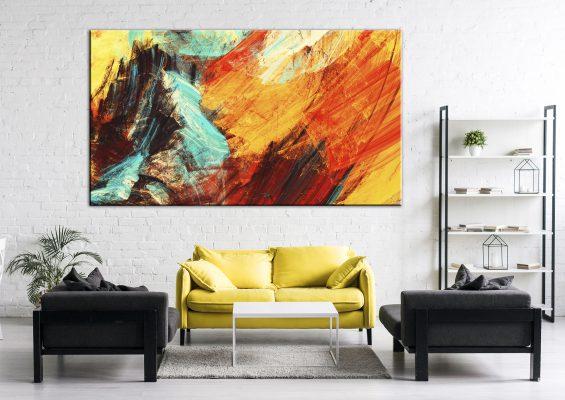 תמונת-כוח-עוצמה-גודל-נוכחות-וצבעוניות לעיצוב הבית