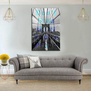 תמונת קנבס גשר גאווה לסלון לעיצוב הבית