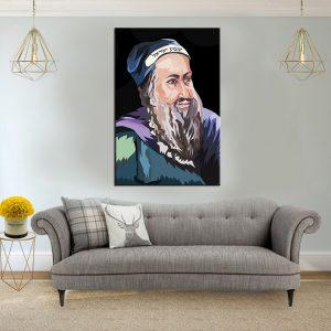 תמונת קנבס לסלון רבי שמעון בר יוחאילעיצוב הבית