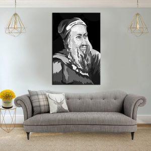 תמונת קנבס רבי שמעון בר יוחאי לסלון לעיצוב הבית
