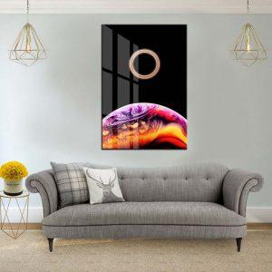 תמונת קנבס טבעת חלל לסלון לעיצוב הבית