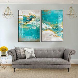 תמונת קנבס ים צלול לסלון לעיצוב הבית