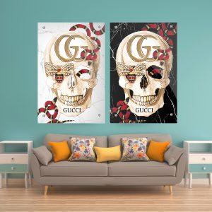 תמונת קנבס גוצ'י לנצח לסלון לעיצוב הבית
