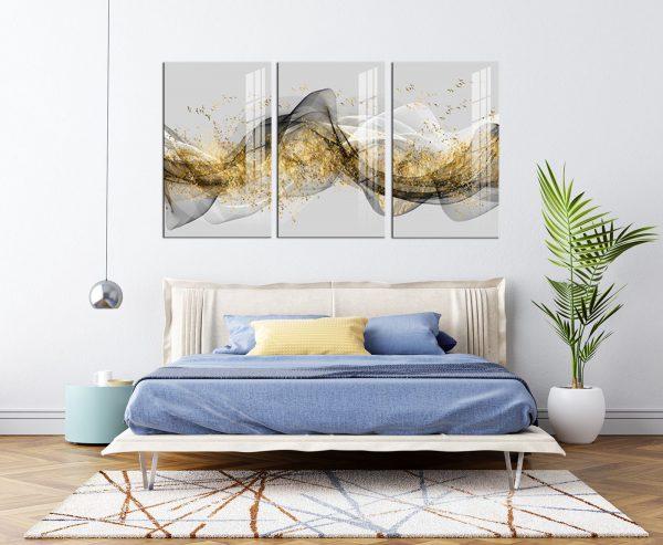 תמונת קנבס שובל האבסטרקט לסלון לעיצוב הבית