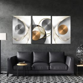 תמונת קנבס אבסטרקט מצולחת לסלון לעיצוב הבית