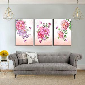תמונות קנבס פרחי האביב