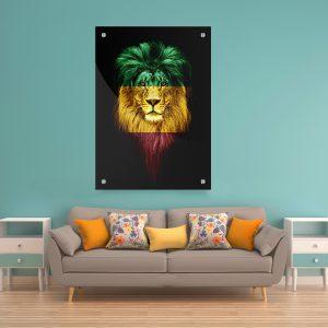 תמונת קנבס אתיופיה קינג לסלון לעיצוב הבית