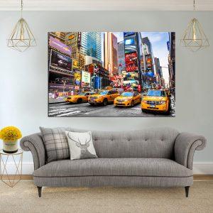 תמונת קנבס מוניות בסטייל לסלון לעיצוב הבית