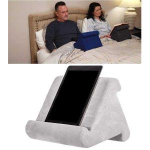כרית מעמד רב צדדי לטאבלט/ספר, למיטה/ספה/כסא/שולחן