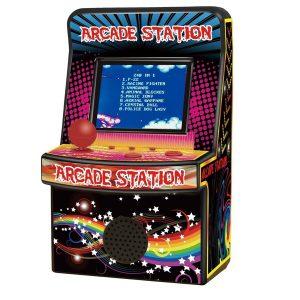 מיני תחנת משחקי רטרו שולחני ארקייד (240 משחקים)